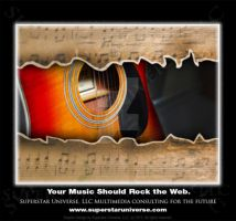 Music Advertisement to Rock the Web by SuperstarUniverseLLC