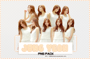 [PNG-PACK] Jung Yeon by babykidjenny