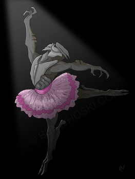 Turian in a Tutu by benwhoski