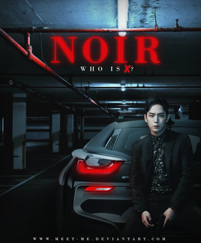 Himchan in Noir // Who is X? | 20180307 by Meet-Me