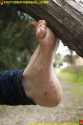 Foot On The Woods by Footografo