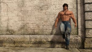 Hunk at the wall (5) by Catweazle01