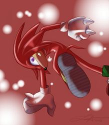 Mascot Knux by echidna-glompers