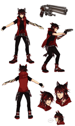 Ruby Reference [RWBY/COM] by Keethy