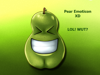 Pear Emoticon XD copy by carapau