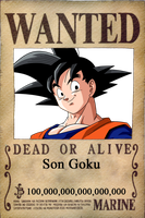 Wanted Goku by CannedMadMan66