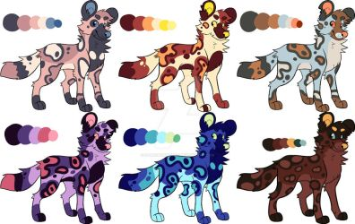 [OPEN] AWD Adopt Batch! by StardustSane