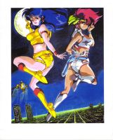 the original dirty pair by CD007