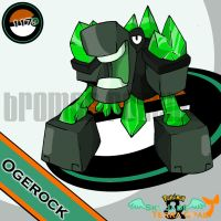 117. Ogerock by bromos-pokemon