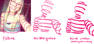 how to: scribble gesture by LVL80Catlady