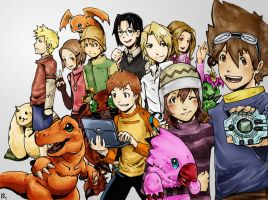 Digimon by taintedfeather