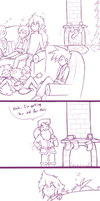 Xmas comic thing by firehorse6