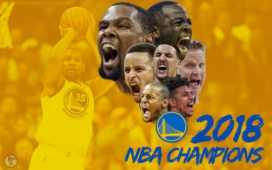 Warriors 2018 NBA Champions Wallpaper by PavanPGraphics