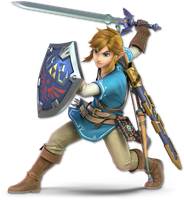 Super Smash Bros. Ultimate - NEW Link - Render by CynicSonic