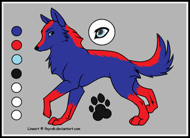 Wolf Adopt Special 1 (SOLD) by cloudwolfanime