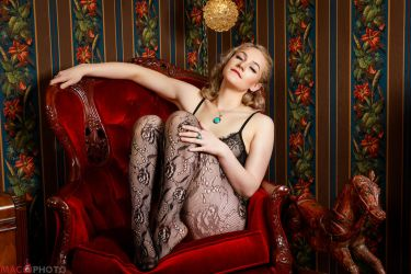 Red Room Lace by Mac--Photo