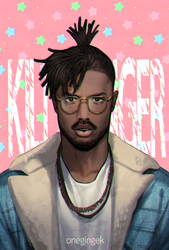 Killmonger by kanapy-art