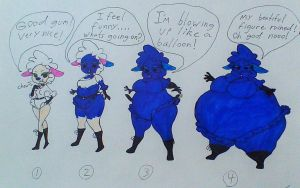 Peggy Lamb's Blueberry Inflation p1-4 by mj455