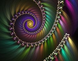 Spiral of many colors by obeyyourmaster