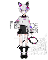SEMI CUST FLEUROS ADOPTABLE (CLOSED) by machomilk