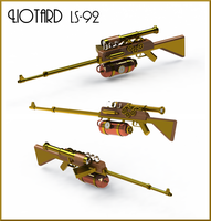 Steampunk Sniper Rifle by Dixbit