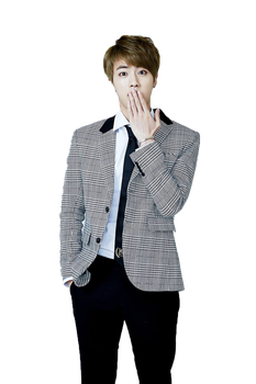 Jin Bts 2 png by jungleelovely by Jungleelovely
