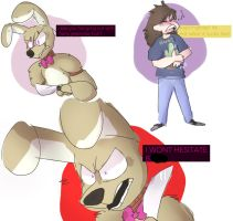 Previously On Springtrap  Delilah by SillyOlMii