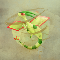 Flygon is the sandstorm! by OsielG