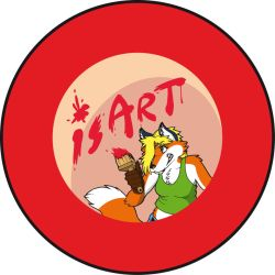 isArt OpenDay pin by Banderi