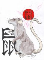 Chinese Horoscope Rat by LARvonCL
