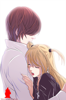 Death Note Light and Misa by IVAN-03