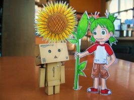 A present for Danbo .......... by Yuffie1972