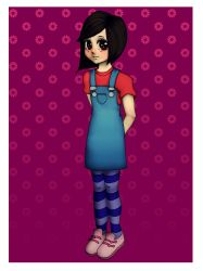 Flowers and stripes by Tirena