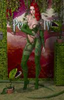 Poison Ivy 'Teenage Bedroom Heroines' Series by PaulSuttonArt