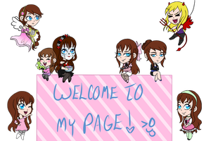 .: Welcome Everyone! :. by thebigblackdevil5
