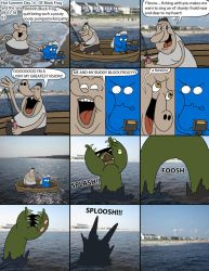 BF Mini Comic 97 - Ol' Block Frog and the Sea by WildKats