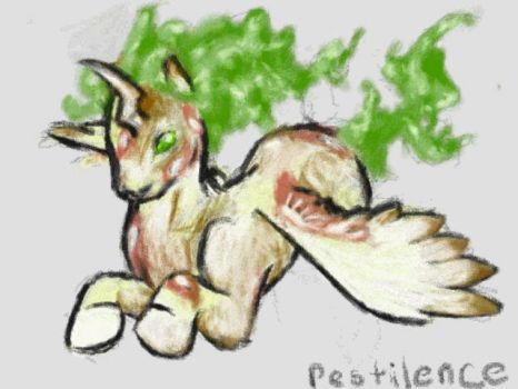 My Lil Pwnies: Pestilence by StreakdWindowPaine