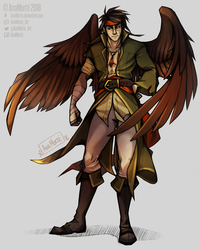 FE - The Hawk King,  Tibarn by AnaMorte