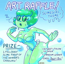 TWITTER RAFFLE: SUMMER SLIMES! by Cavitees