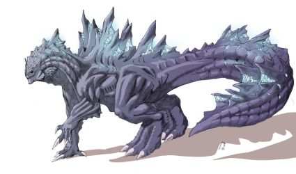 Supercharged Godzilla Redesign by TGping