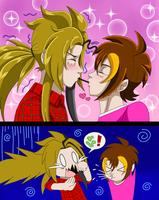 Pocky Game... Gone Wrong by LilyandJasper