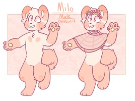 Milo - reference sheet by stariitea