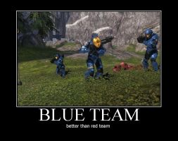 Blue Team by ODST-Training