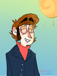 Groovy Lennon by KabouterPollewop
