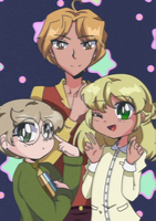 Heirloom Star: Strangers -- Retro Anime Style! by MSTieMiss
