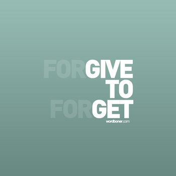 Forgive To Forget by WRDBNR
