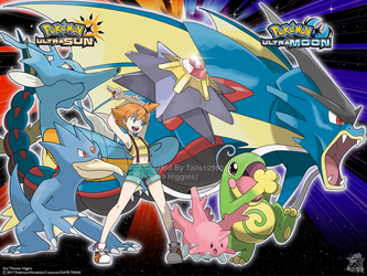 Pokemon Ultra Sun and Ultra Moon - Misty 2 by Tails19950