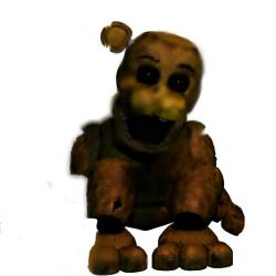 Super Withered Golden Freddy by Coolasp1e