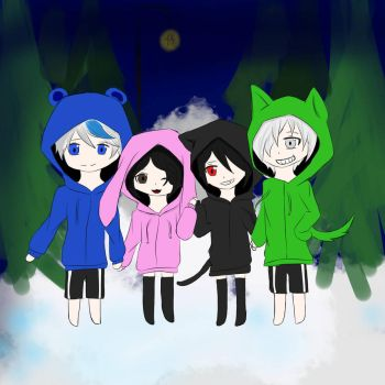 Squad drawing  by ariafoxy123