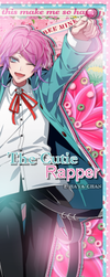 [Scrapbook] The Cutie Rapper - Ramuda Amemura by BelliaFairy